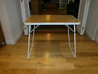 Folding/camping/outdoor/craft/dining or foldable tray table