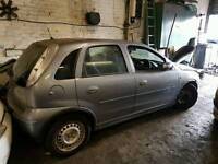 2006 vauxhall corsa 1.2 twinport breaking for spares