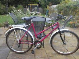 "Ladies bike - Pegasus Sorrento ladies bike 26"" wheels, good condition"