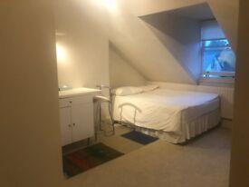 En-suite Bedsit, Wimbledon, 35 minutes' drive! Richmond borough, Free wifi.