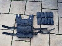 Adjustable Weighted Vest (60lb / 27kg)
