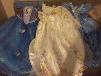 3 Cinderella Dresses age 5-6