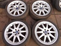 "FORD MONDEO, GALAXY, FOCUS, TRANSIT CONNECT, C-MAX, S-MAX 18"" inch ALLOY WHEELS ( our ref 047 )"
