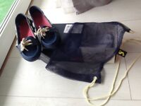 Joules size 5 pooler shoes