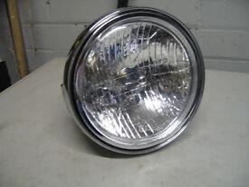 chrome headlamp
