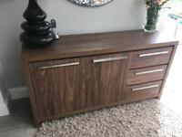 Extending dining table and sideboard