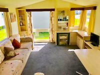 CHEAP CARAVAN FOR SALE IN NORTHUMBERLAND, CHEAP FEES, 12 MONTH SEASON, 2017 FEES INCLUDED