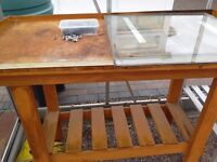 Potting Table - Wooden - Good Condition