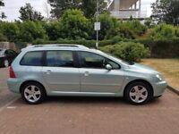 2005 Peugeot 307 SW 1.6 HDi SE 5dr Manual @07445775115