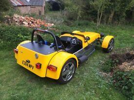 MK INDY Kitcar-Lotus 7 type replica.