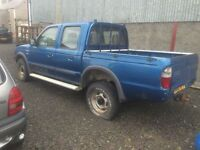 2000 Mazda B2500 -Ford Ranger crewcab for parts all parts available