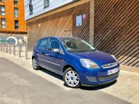 2007 FORD FIESTA 1.6L AUTOMATIC STYLE CLIMATE 5DOORS NEW MOT LOW MILES FULL AUTO NOT CORSA POLO GOLF