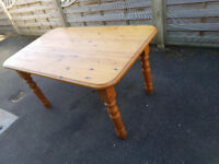Excellent Solid Pine Kitchen/Dining Table