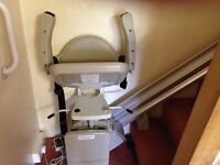Stairlift - Bruno 12' for narrow stairway