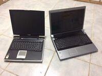 2 x Dell Studio 1737 & Toshiba Satellite Pro A10 spare or repair