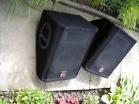 WHARFEDALE POWERED AND PASSIVE MONITORS--MANCHESTER