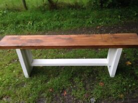 Made to order farmhouse tables and benches