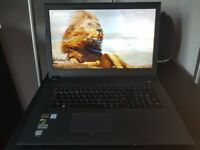"Optimus Series: 17.3"" Matte Full HD IPS LED Widescreen (1920x1080) Laptop - Perfect Condition"