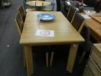 Table and 4 chairs - British Heart Foundation sco39426
