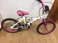 "Avigo breeze girls bike 16"" wheels"