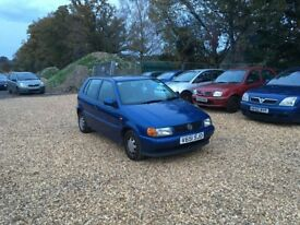 2000 Volkswagen Polo 1.4 3 Months MOT Service History Low Milage Cheap Car