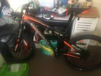 Boardman mountain bike full suspension