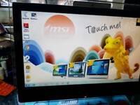 "Msi touchscreen 19"" pc"