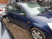 Ford Fiesta MK 6 Drivers Front door in Blue 2005 O/S/F Ring for more info