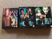 24 DVD Seasons 1, 2, 3