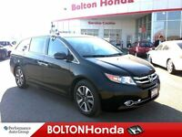 2015 Honda Odyssey Touring - Warranty To 160,000 kms.