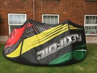 Flexifoil Force 11m kitesurfing kite