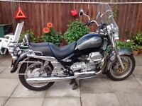 moto guzzi california 1100i ev 1998 with luggage