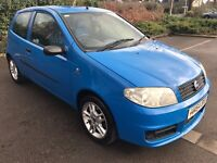 Great Looking 2004 54 Fiat Punto Active Sport 16V 72154 Miles 3 Dr Hatch FSH Low Tax Ideal 1St Car