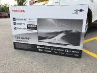 "*BRAND-NEW* Toshiba 49"" 4K UHD Smart LED TV"