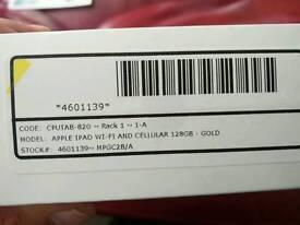Apple ipad 128gb gold BNIB