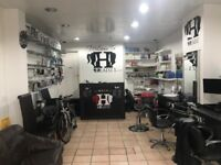 Barber Shop Hairdresser Salon Business For Sale - Busy Main Road - Cheap Rent - Equipment Included