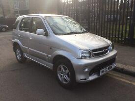 daihatsu terios si 1.3 petrol 4x4 2002 reg new mot clean car