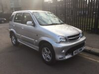 daihatsu terios si 1.3 petrol 4x4 2002 reg new mot clean car