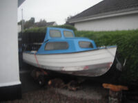 14ft FIBREGLASS BOAT