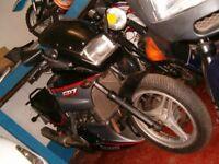 Kawasaki GPZ500cc: Ideal 1st big motor bike: Reluctant Sale
