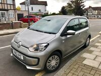 2013 VW VOLKSWAGON UP 1.0 BLUEMOTION 5/DOOR, 13,000 MLS, 2 OWNERS, YEAR MOT, GREY, IMMACULATE COND..