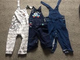 Dungarees 12-18 months