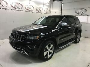 2014 Jeep Grand Cherokee Overland /  NAVIGATION / LEATHER / SUNR
