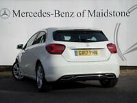 Mercedes-Benz A Class A 180 D SPORT PREMIUM (white) 2017-03-13