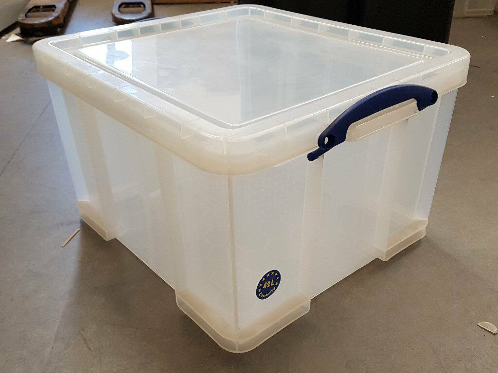 Plastic Storage Boxes 42L