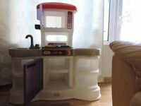 Little tikes play kitchen with sound