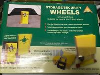 Pyramid Caravan Storage/Security Wheels