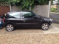 2004 RENAULT CLIO 1.2 16V EXTREME 3 PETROL IN PEARL BLACK BREAKING / SCRAP ALL PARTS AVAILABLE!!