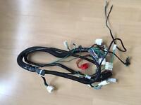 Motorbike wiring loom