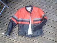 Ladies motorbike leather size 12